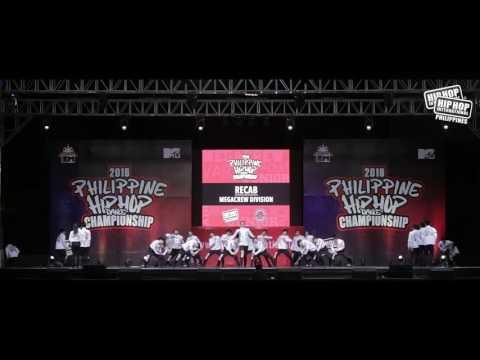 RECAB --- FINALIST --- MEGACREW --- 2016 PHILIPPINE HIP HOP DANCE CHAMPIONSHIP