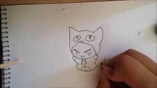 como desenhar um neko