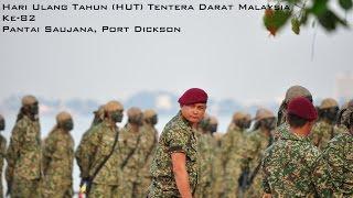 hari ulang tahun hut tentera darat malaysia ke 82 2015 demonstrasi ggk