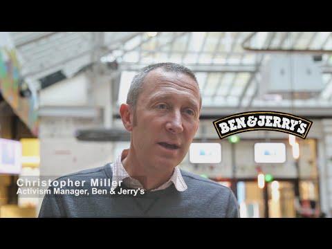 COP21  with Christopher Miller  BEN & JERRY'S