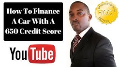 How To Finance A Car Loan With A 650 Or Lower Score - 850 Club Credit Consultation