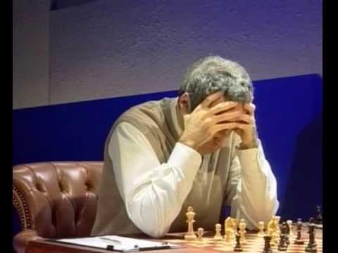 Kasparov Kramnik Match 9 World Chess Championship 2000 (live)