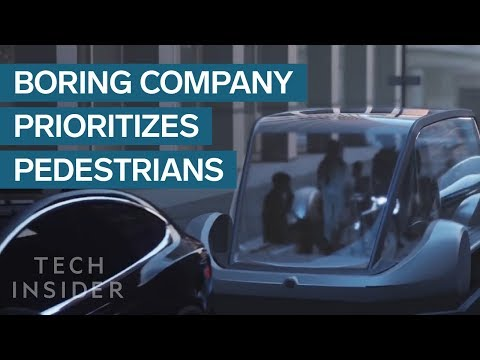 Elon Musk: Boring Company To Prioritize Pedestrians Over Cars
