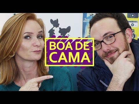 O QUE É UMA MULHER BOA DE CAMA?   ft. Cátia Damasceno