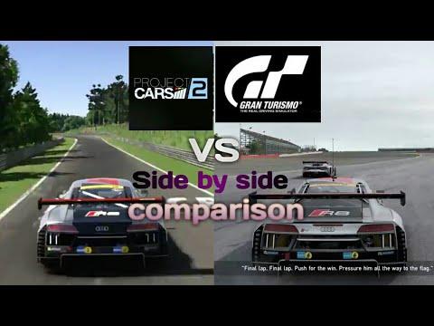 Project Cars Vs Gran Turismo Sport Graphic Comparison Gameplay - Sports cars comparison