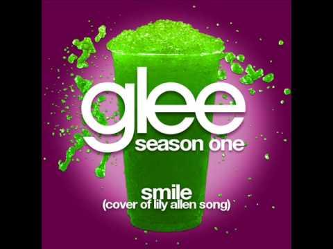Glee - Smile (Lily Allen) [LYRICS]
