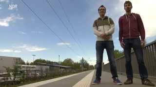 Realer Irrsinn: Bahnsteig mit Mut zur Lücke