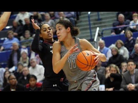 UConn Women's Basketball Highlights v. Temple 02/18/2018