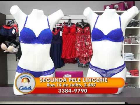 81083f44bf737 Segunda Pele Lingerie - Promoção mês das mães. - YouTube