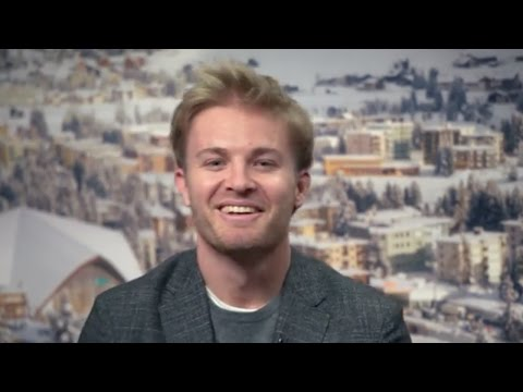 Nico Rosberg: LIVE from WEF Davos