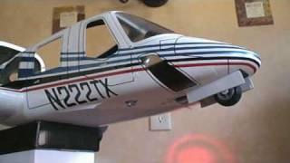 Retract Landing Light on Bell 222