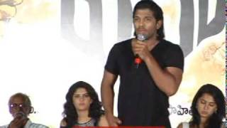 Vedam Music Launch Allu Arjun, Manoj, Anushka Part 3