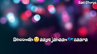 Hua Hai Aaj Pehli Baar (Female Version) Whatsapp Status | Sad Storys |