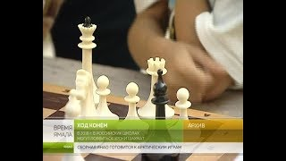 Ход конём.  В российских школах могут появиться уроки шахмат