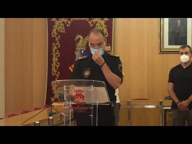 Rueda de prensa para informar sobre las medidas de seguridad frente al Covid 19 #Aspe 2020