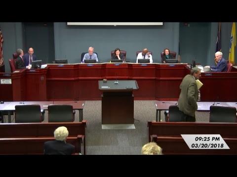 Arlington County Board Meeting - March 20, 2018