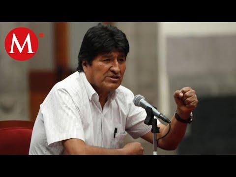 Evo Morales condena la violencia hacia el pueblo