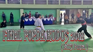 FINAL Ppoopda kudus 2018 (Putra MTS)