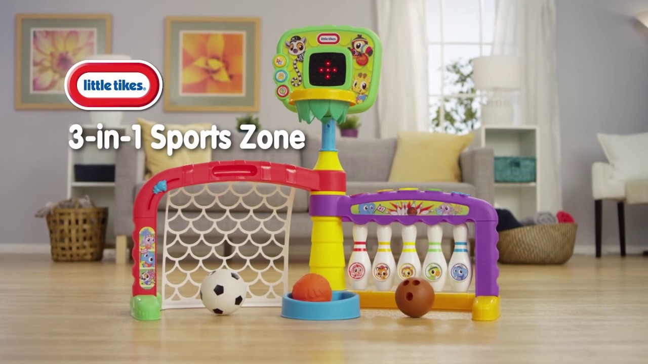 Little Tikes Light N Go 3 In 1 Sports Zone 30 Youtube