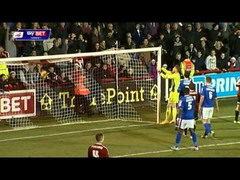 Jonathan Douglas's last minute header gives Bees all three points against Oldham