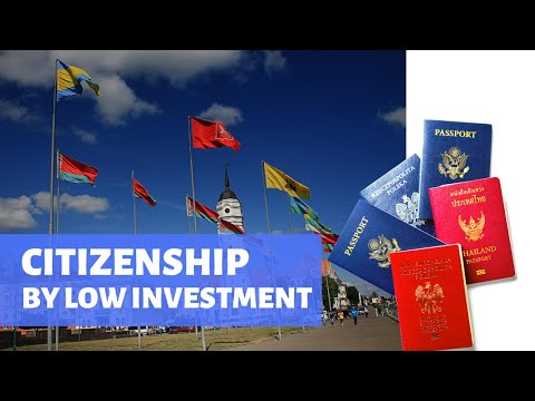 Countries Selling Citizenship by LOW INVESTMENT