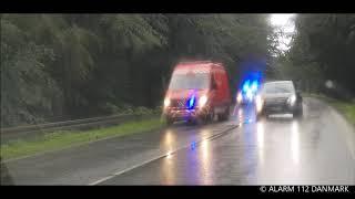10.08.2019 - Træ fjernes fra vejen
