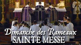 Messe du dimanche des Rameaux - DOMINE NE LONGE