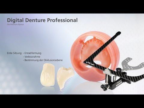 Digital Denture Professional – Erste Sitzung