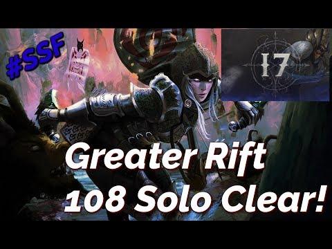 Greater Rift 108 Solo Impale Demon Hunter Season 17 Diablo 3