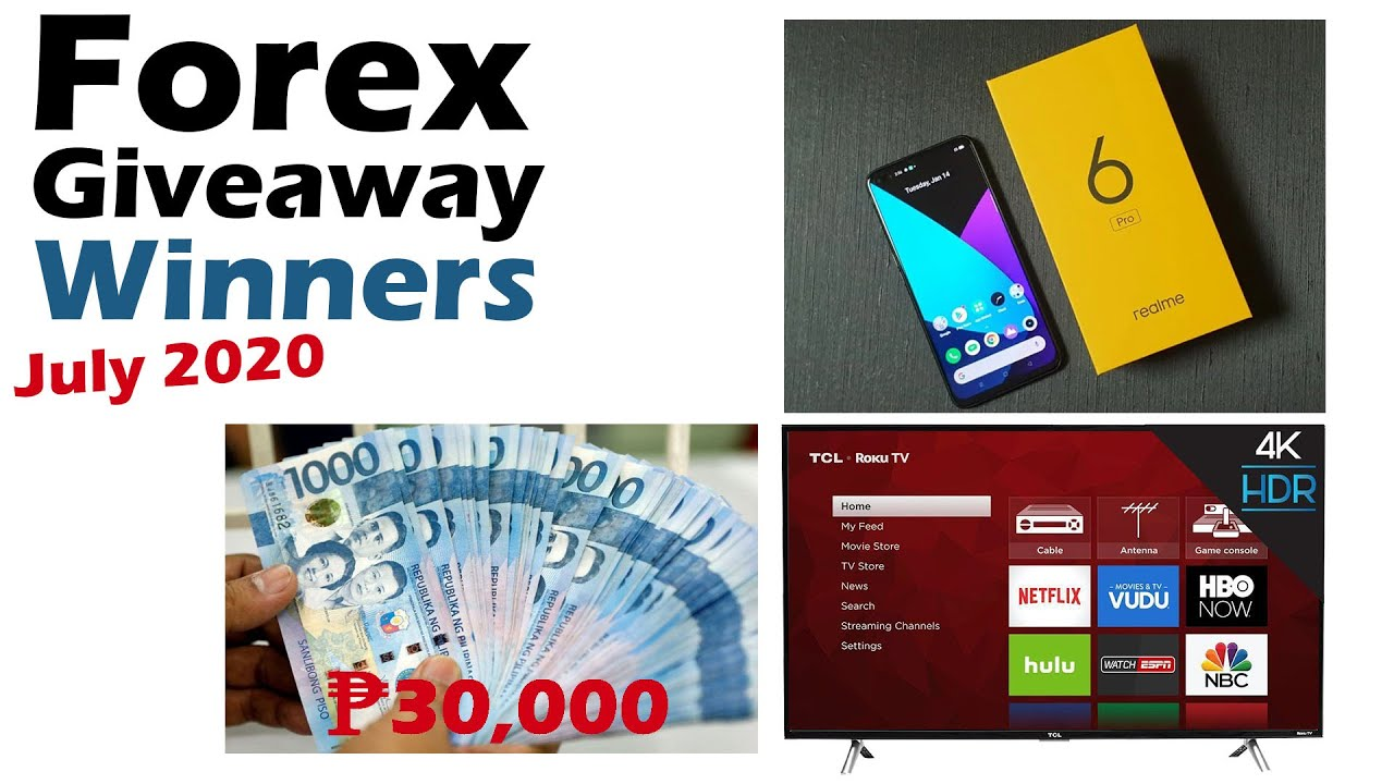 Forex Giveaway Winners Month of July 2020 - by Bibiano Forex and XM