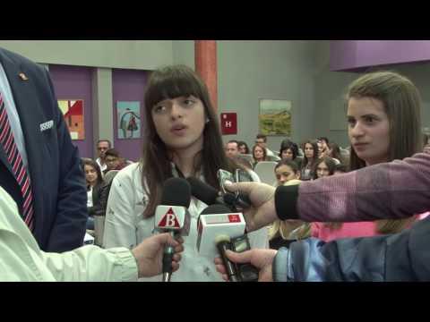 Учениците од СОУ Горче Петров го искажаа своето искуство што го стекнаа во Шпанија и Португалија