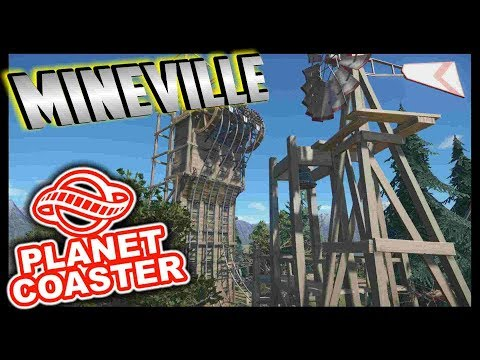 Welcome to Mineville - Ab in die Mine?! | PARKTOUR - Planet Coaster