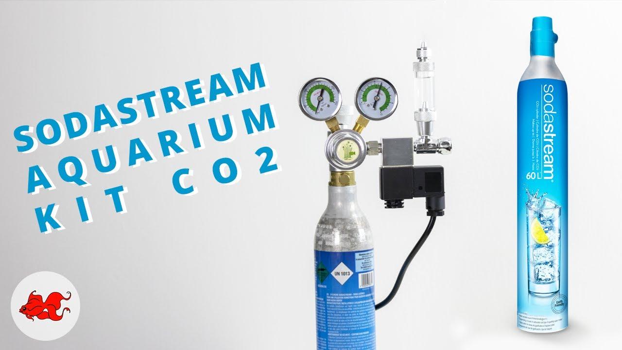 Sodastream Kit CO2 aquarium pas cher