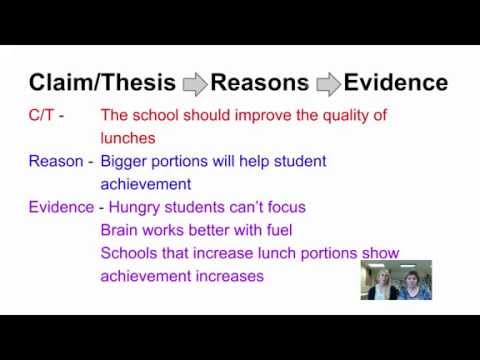 Creating a Claim or Thesis