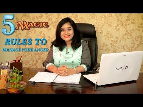 5 Magic Rules To Manage Your Anger     My Positive Life    Ruheena Priyadarshini