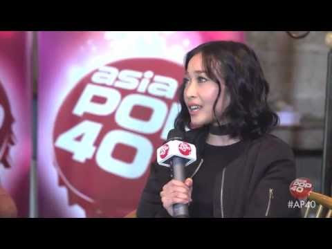 Rinni Wulandari interview on Asia Pop 40