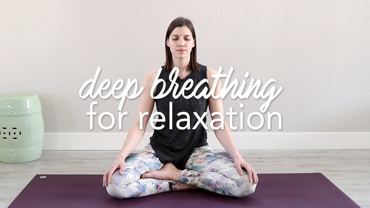 Deep Breathing Relaxation Technique Yoga Breathing Youtube