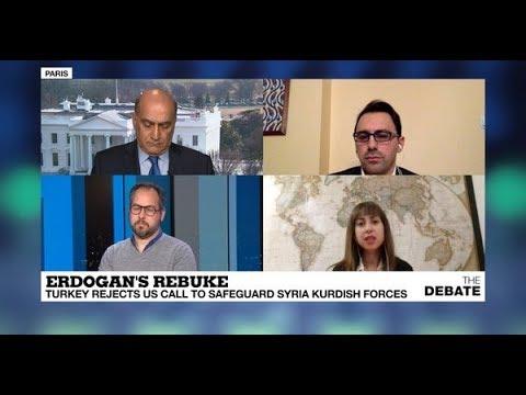 Erdogan's rebuke: Turkey rejects US call to safeguard Syrian Kurdish forces