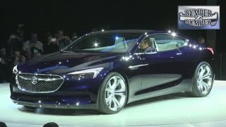 The Latest Concept Car from Buick: A Hint of the Future.