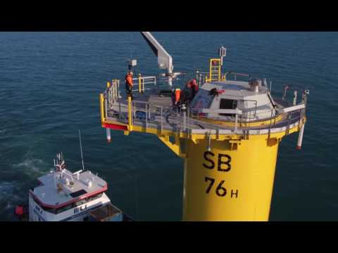 09 CABLE BOSKALIS Sandbank offshore wind farm  inter array cable installation