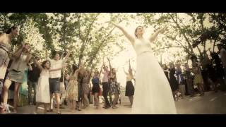 Orly and Tom Wedding  Dance video, Flash Mob bollywood