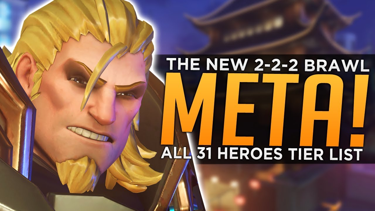 Overwatch: The Return of BRAWL Meta! - All 31 Heroes Tier List thumbnail