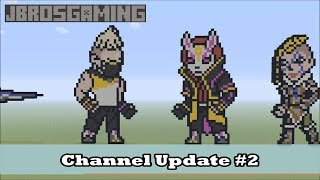 JBrosGaming Pixel Art World Showcase and Channel Update #2