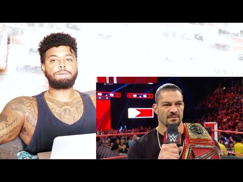 Roman Reigns relinquishes the Universal Title to battle his returning leukemia | Reaction