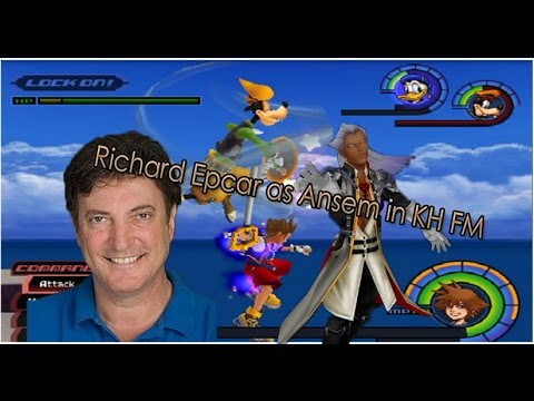 Richard Epcar as Ansem in Kingdom Hearts 1? (Battle voice replacement hack)