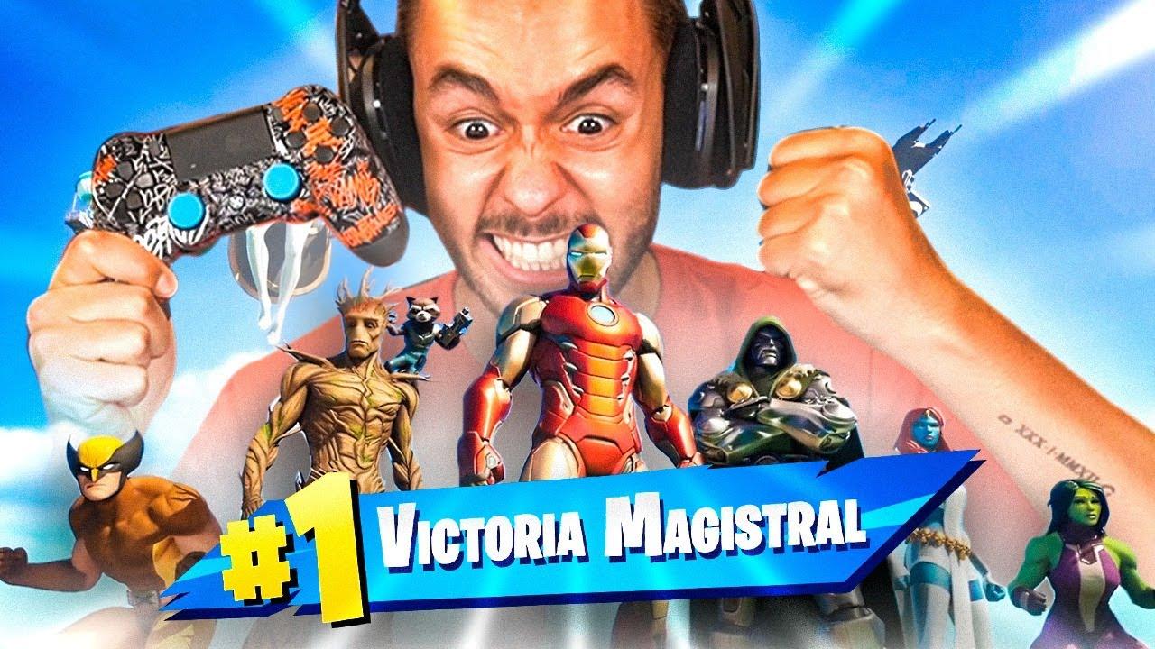 Download MI PRIMERA PARTIDA Y VICTORIA EN LA TEMPORADA 4 DE FORTNITE X MARVEL - TheGrefg