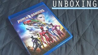 UNBOXING | Power Rangers 2017 (Blu-ray)