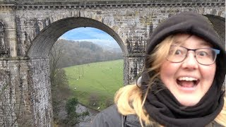 Chirk Aqueduct by narrowboat. Could you stomach it?