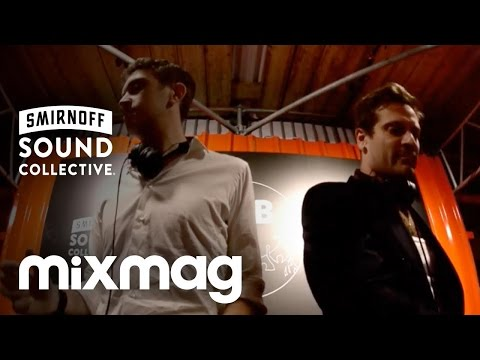 FLIGHT FACILITIES (Hugo) b2b TOUCH SENSITIVE in The Lab at #smirnoffhouse