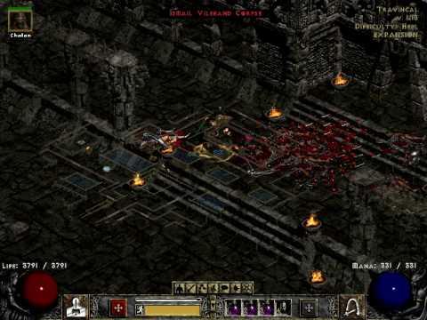 Diablo II LoD - Find Item bug in Travincal